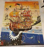 Heye 1500 piece jigsaw puzzle. 'Nelson's Crew' by RJ Crisp. Complete