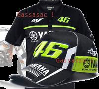 T-SHIRT & CAP Pack B Polo Valentino Rossi 2017 VR 46 yamaha M1 i moto gp
