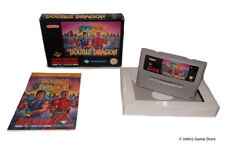 Super Double Dragon Super Nintendo SNES PAL BOXED COMPLETE