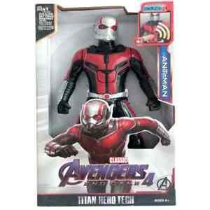 """30cm 12"""" Ant-Man Avengers Endgame Super Hero Action Figure Sound Light Toys Kids"""