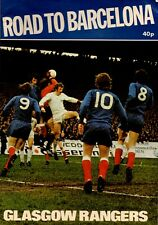 More details for 1972 rangers ecwc final club brochure (final preview)