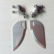 CNC Aluminum alloy turn fins set 82*30mm for applicable above 1.3m rc boat 207