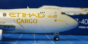 Gemini GJETD1477 Boeing 747-400F Etihad Cargo N476MC 1:400