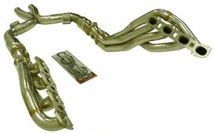 OBX Long Tube Header W/Cats For 11-13 Ford Shelby GT 500 5.4L 5.8 L Supercharged