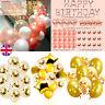 Gold Latex Confetti Balloon&Balloons Arch Kit Set Birthday Wedding Garland Decor