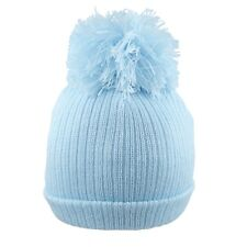 3624b3e69 Blue Bobble Hat in Baby Caps & Hats for sale | eBay