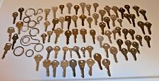 Mixed Lot Old Vintage Antique Keys / Steam Punk House Car Misc Brass
