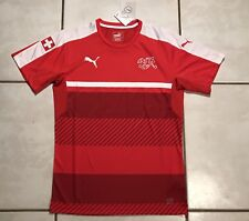 869d3c292 NWT Switzerland National Team RED-CHILI PEPPER Training Jersey Men s Medium