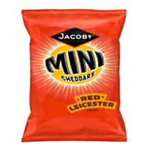 Mini Cheddars Grab Bag New Flavour RED LEICESTER 30x50g