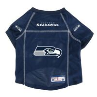 Seattle Seahwawks NFL Little Earth V-Neck Pet Mesh Dog Jersey Sizes XS-XL