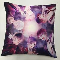 Anime Diabolik Lovers Haunted dark bridal game two sided Pillow Case Cover 225