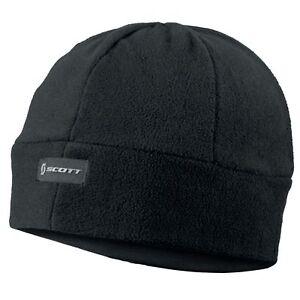 SCOTT - SKULL FLEECE BEANIE Hat unisex Black - One Size - 231236