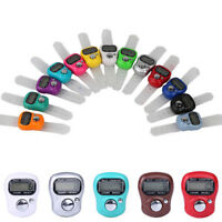 Mini LCD Digital Ring Counter Manual Electronic Knitting Row Hand Held Timer