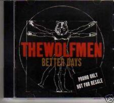 (82M) The Wolfmen, Better Days - DJ CD