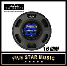 "EMINENCE PATRIOT SERIES CANNABIS REX 12"" GUITAR SPEAKER 50 WATTS 16 OHM NEW"