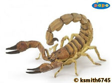 Papo SCORPION solid plastic toy wild animal insect bug arachnid * NEW *💥