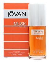 JOVAN JOVAN MUSK FOR MEN EAU DE COLOGNE EDC - MEN'S FOR HIM. NEW. FREE SHIPPING