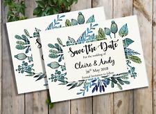 Magnetic Wedding Save the Date Cards with envelopes x 5