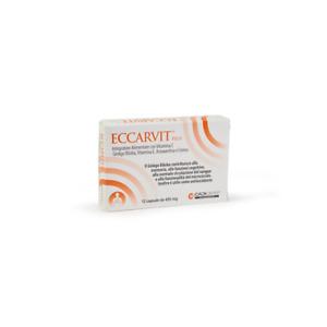 ECCARVIT 12 CPR  INTEGRATORE CONTRO MALATTIE CARDIOVASCOLARI E RADICALI LIBERI