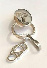 Medical Caduceus Stethoscope ID Holder Eyeglass Doctor Nursing Graduation Gift