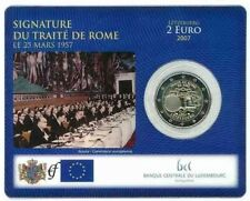 "Luxemburg 2 euro ""Verdrag van Rome"" 2007 BU Coincard Commemorative - In Stock!"