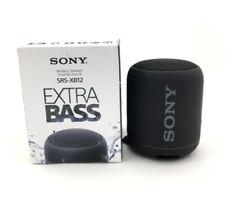 Sony SRS-XB12 Genuine Extra Bass Portable Bluetooth Speaker SRSXB12 Black - NEW