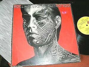 ROLLING STONES -     Tattoo You,    ORIGINAL 1981 UK LP / inner..... DECENT COPY