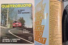 QUATTRORUOTE DICEMBRE 1967 - PROVA AUTO UNION AUDI SUPER 90
