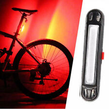Rechargeable Bicycle Bike LED Tail Light Safety Warning Rear Lamp Flash/Bright