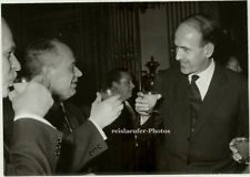 ORIG. photo, giscard d 'Estaing & roudniev tropiezan en 1964
