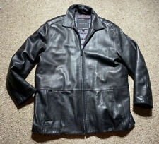 ANDREW MARC LAMBS SOFT LEATHER BLACK MENS XL JACKET MARC NEW YORK MOTO
