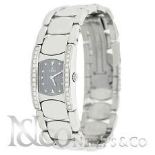 EBEL Beluga Diamond E9057a28-10 Women's Quartz Watch Stainless MOP Dial 19mm