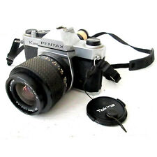 Vintage Pentax K1000 SLR 35mm Camera Tonika zoom 35-70mm F3.5 - 4.8 Lens