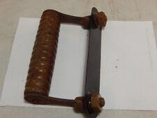 Vintage Singer Sewing Machine Bentwood Case Wood Handle