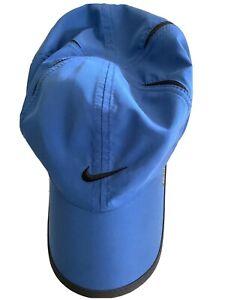 NIKE Golf Unisex Featherlight Workout Golf Tennis Running Cap Hat - Blue