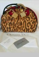 Luxuslabel Christian DIOR Echtfell Leder Cube Tasche Chain Bowler Handbag Sac