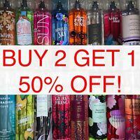 Bath & Body Works Fragrance Body Mist Splash Spray 8 oz Pick Your Favorite Scent