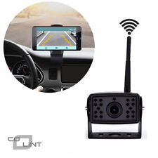 Wireless WiFi Phone Truck Parking Rear View Camera for Truck RV Trailers Campers