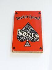 Motorhead Ace of Spades Audio Cassette Tape single rare