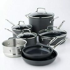 Cuisinart Chef's Classic 11pc Non-Stick Hard Anodized Cookware Set - 66-11