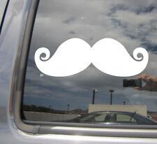 Mustache Moustache - Car Laptop Bumper Window Vinyl Decal Sticker 10328