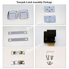 Premium Chrome Tour Pack Latch For Harley HD 88-13 Razor Chopped King Tour Pack