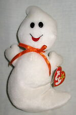 Spooky TY Beanie Baby Ghost MWMT Halloween Birthday October 31 1995 Style 4090
