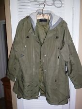 NEW Glamsia Men's Double Closure Jacket w/Removable Hoodie  Size: X-Large NWT