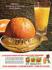 PUBLICITE ADVERTISING 035  1964   ORANGES  faites une cure de vitamines C