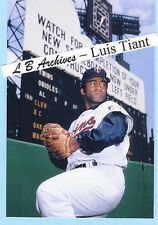 LUIS TIANT Rare 70 Twins Photo Red Sox Indians Yankees