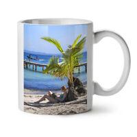 Summer Beach Sea Nature NEW White Tea Coffee Mug 11 oz | Wellcoda