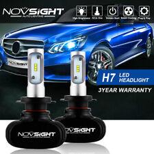 NOVSIGHT Pair H7 LED Car Headlight Lamp Bulbs Plug&Play 50W 8000LM 6500K White
