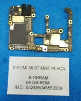 PLACA BASE TELEFONO XIAOMI MI 9T 64GB RAM 6GB VERSION GLOBAL REPUESTO LIBRE