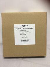 Alpta 3D Printer Filament Black 1.75mm